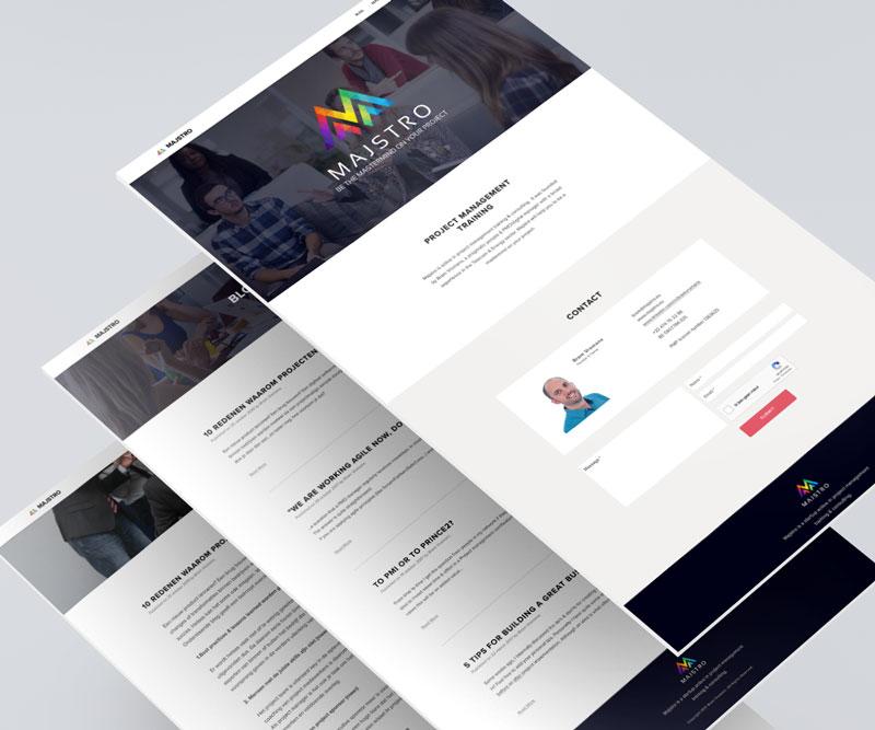 Majstro Website Design